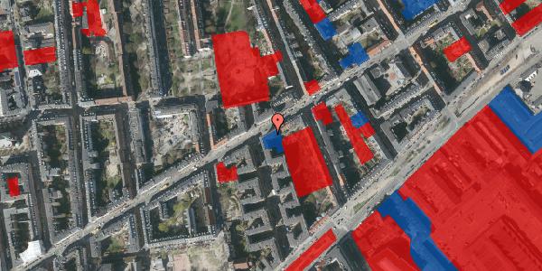 Jordforureningskort på Istedgade 55, 1. tv, 1650 København V