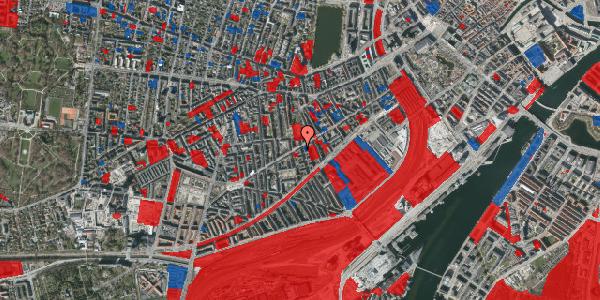 Jordforureningskort på Istedgade 57, 4. tv, 1650 København V