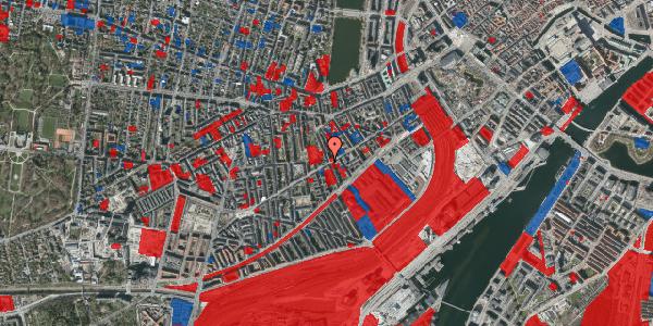 Jordforureningskort på Istedgade 60, 1. th, 1650 København V