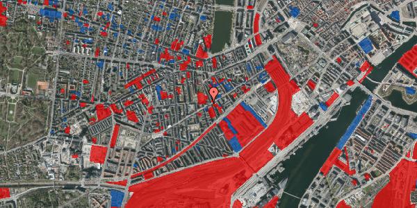 Jordforureningskort på Istedgade 62, 1. tv, 1650 København V