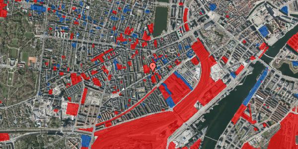 Jordforureningskort på Istedgade 66, 3. tv, 1650 København V