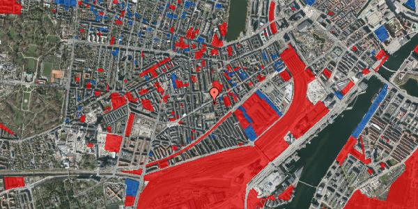Jordforureningskort på Istedgade 69, 4. tv, 1650 København V