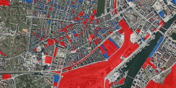 Jordforureningskort på Istedgade 73, 5. tv, 1650 København V