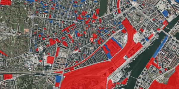 Jordforureningskort på Istedgade 79, 1. tv, 1650 København V
