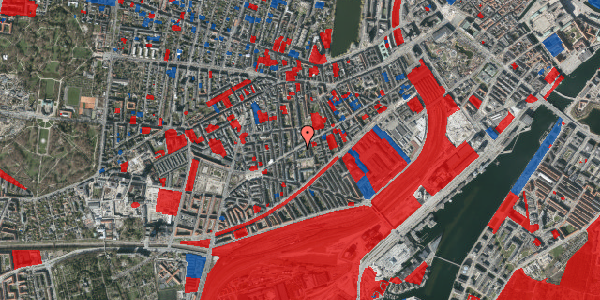 Jordforureningskort på Istedgade 79, 4. tv, 1650 København V