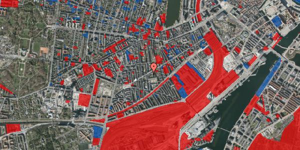 Jordforureningskort på Istedgade 81A, 4. th, 1650 København V