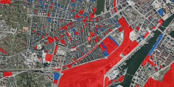 Jordforureningskort på Istedgade 81B, 1. th, 1650 København V