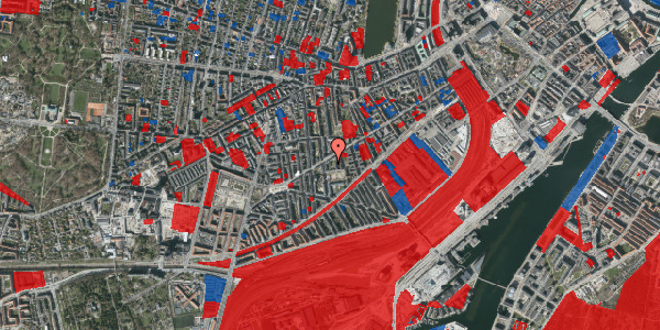 Jordforureningskort på Istedgade 81B, 1. tv, 1650 København V