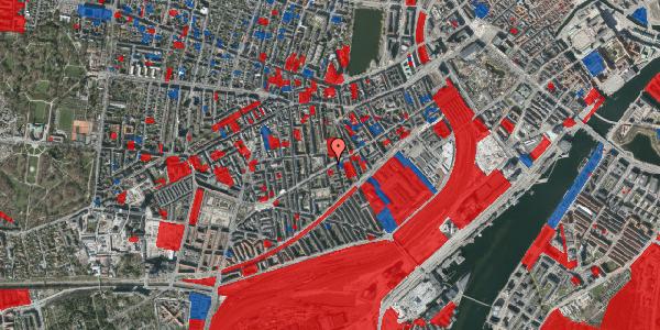 Jordforureningskort på Istedgade 86, 4. tv, 1650 København V