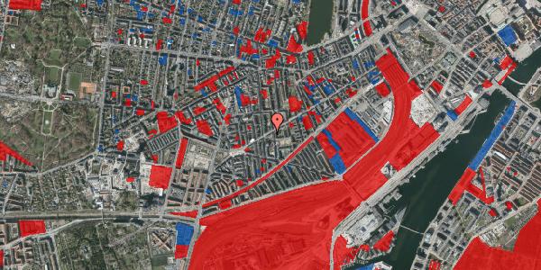 Jordforureningskort på Istedgade 89, 4. tv, 1650 København V