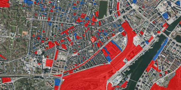 Jordforureningskort på Istedgade 96, 4. tv, 1650 København V