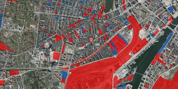 Jordforureningskort på Istedgade 101, 4. th, 1650 København V