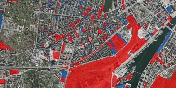 Jordforureningskort på Istedgade 103, 4. , 1650 København V