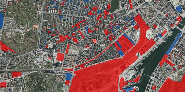 Jordforureningskort på Istedgade 105, 5. tv, 1650 København V