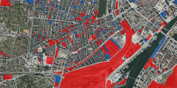 Jordforureningskort på Istedgade 106, 2. tv, 1650 København V