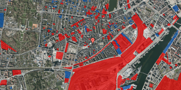 Jordforureningskort på Istedgade 107, 2. tv, 1650 København V