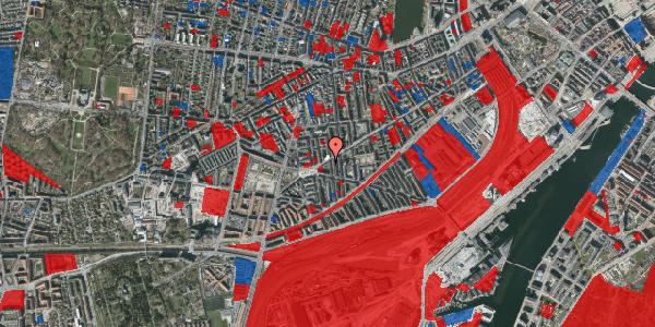 Jordforureningskort på Istedgade 107, 3. tv, 1650 København V