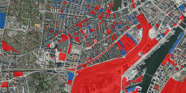 Jordforureningskort på Istedgade 119, 2. tv, 1650 København V