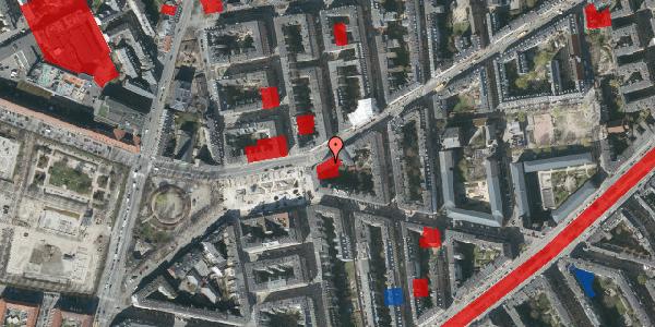Jordforureningskort på Istedgade 121, 1. th, 1650 København V