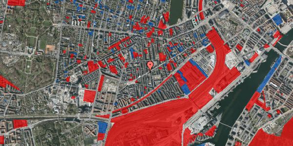 Jordforureningskort på Istedgade 126, 3. tv, 1650 København V