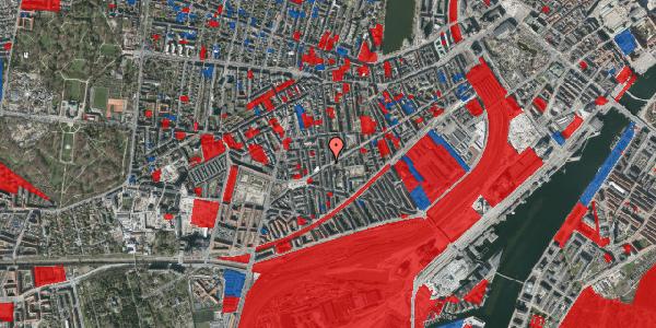 Jordforureningskort på Istedgade 128, 5. tv, 1650 København V