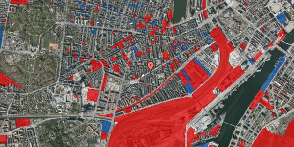 Jordforureningskort på Istedgade 130, 1. tv, 1650 København V