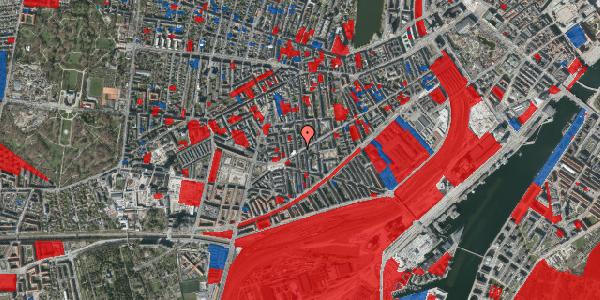 Jordforureningskort på Istedgade 132, 1. tv, 1650 København V