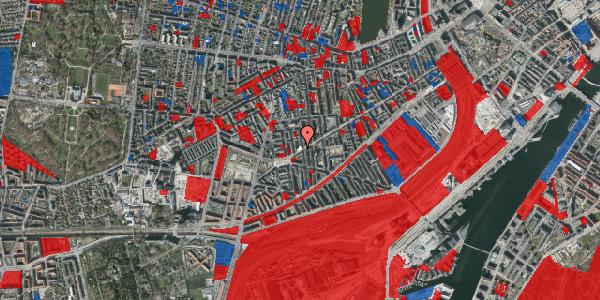 Jordforureningskort på Istedgade 136, 2. th, 1650 København V