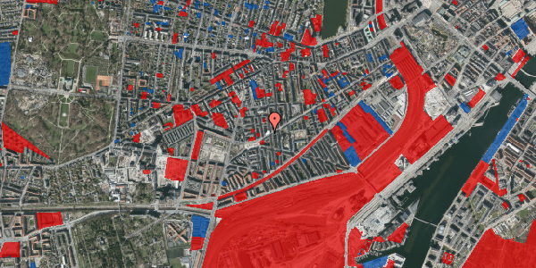 Jordforureningskort på Istedgade 136, 5. th, 1650 København V