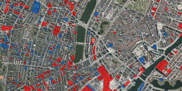 Jordforureningskort på Kampmannsgade 1, 6. , 1604 København V