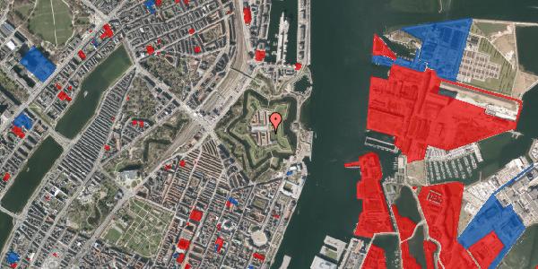 Jordforureningskort på Kastellet 10, 2100 København Ø