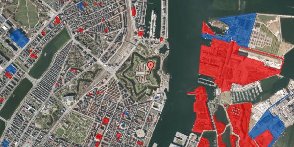 Jordforureningskort på Kastellet 13A, 1. , 2100 København Ø