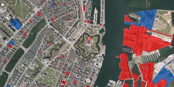 Jordforureningskort på Kastellet 54, 2. 316, 2100 København Ø