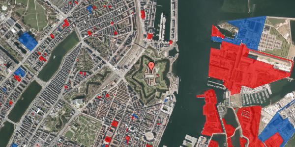 Jordforureningskort på Kastellet 54, 2. 322, 2100 København Ø