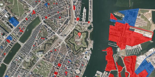 Jordforureningskort på Kastellet 62, 1. 202, 2100 København Ø