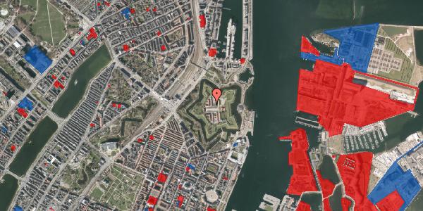 Jordforureningskort på Kastellet 62, 1. 204, 2100 København Ø