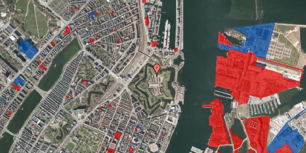 Jordforureningskort på Kastellet 78, 2100 København Ø