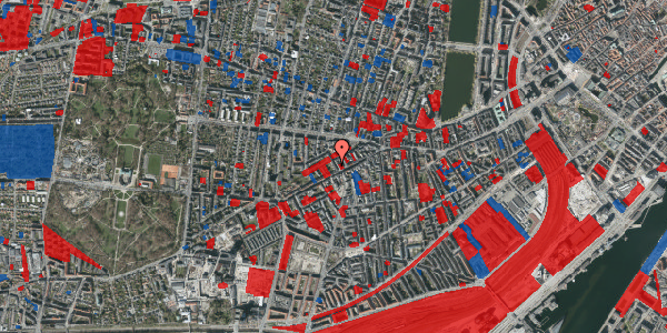 Jordforureningskort på Kingosgade 5, 2. tv, 1623 København V