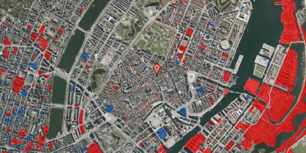 Jordforureningskort på Klareboderne 1, 1115 København K