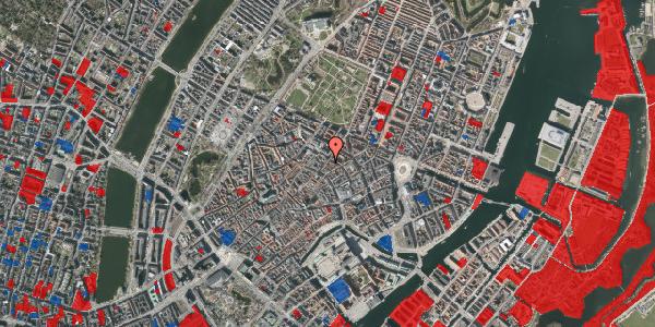 Jordforureningskort på Klareboderne 14, st. th, 1115 København K