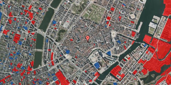 Jordforureningskort på Klosterstræde 13, 1. , 1157 København K