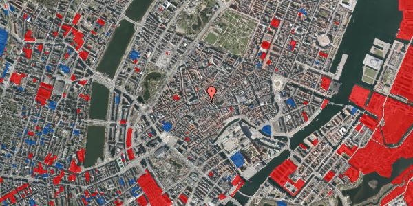 Jordforureningskort på Klosterstræde 21A, 3. , 1157 København K