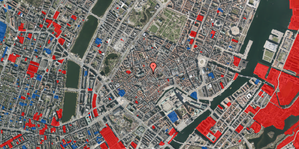 Jordforureningskort på Klosterstræde 23A, 1. , 1157 København K