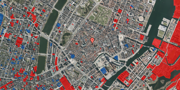 Jordforureningskort på Klosterstræde 23, 3. tv, 1157 København K