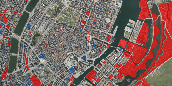 Jordforureningskort på Kongens Nytorv 17, 3. , 1050 København K