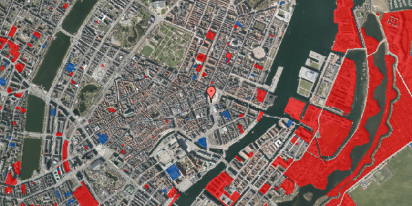 Jordforureningskort på Kongens Nytorv 21, 3. , 1050 København K