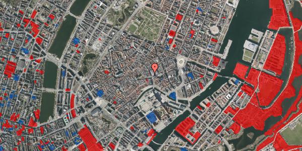 Jordforureningskort på Købmagergade 1, 3. , 1150 København K
