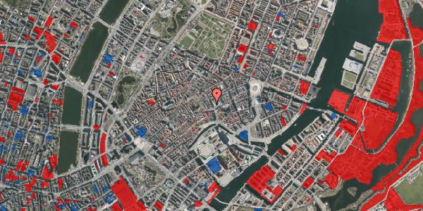 Jordforureningskort på Købmagergade 3A, st. 1, 1150 København K