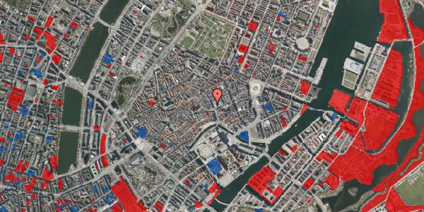 Jordforureningskort på Købmagergade 3A, 4. , 1150 København K