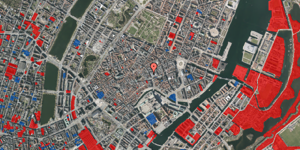 Jordforureningskort på Købmagergade 5, 4. tv, 1150 København K